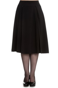 Kennedy skirt - Kennedy kjol, svart, stl S