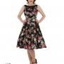 Vivid Rose Floral dress - Vivid rose klänning stl XL