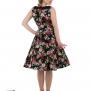 Vivid Rose Floral dress