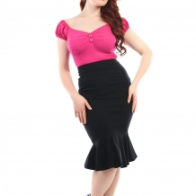 Winifred Fishtail skirt, 2st färger