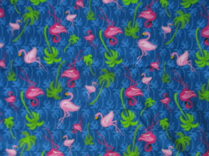 Flamingos, 3 olika tyger - Flamingos nr1... 1m