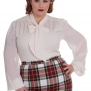 Kathleen blouse   2 färger - kathleen cream stl 4XL