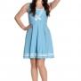 Sailor Ruin dress 2 färger - Sailor ruin dress ljblå stl XL