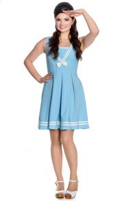 Sailor Ruin dress 2 färger - Sailor ruin dress ljblå stl XS