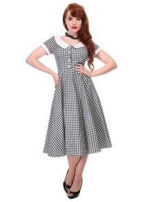 Madeline Gingham swing dress - madeline gingham stl XS
