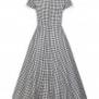Madeline Gingham swing dress