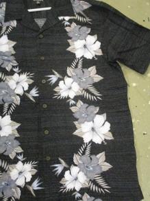 Hawaii skjorta 2olika färger - Hawaii skjorta, svart stl  S