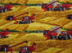 Traktorer - röda traktorer nr1   1m