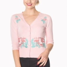 Flamingo cardigan 3 färger