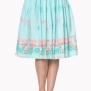 Flamingo kjol - Flamingo kjol stl XL