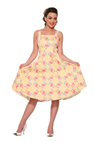 Flamingo Love Sun - Flamingo sundress stl XS