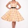 Flamingo Love swing dress - Flamingo Love swing dress stl XL