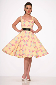 Flamingo Love swing dress - Flamingo Love swing dress stl XS