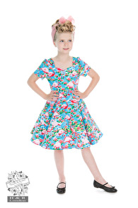 Pretty Flamingo dress - Pretty Flamingo barn stl 3-4år