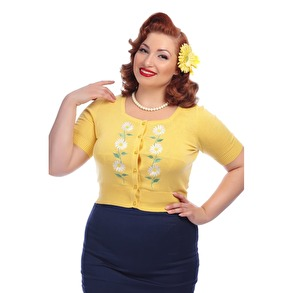 Flora Daisy Cardigan - Flora Daisy cardigan stl XS