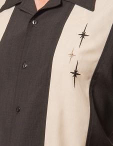 3 Star Panel shirt - 3 star panel shirt, stl XS
