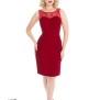 Romance Wiggle dress 2färger - Romance dress röd stl 2XL