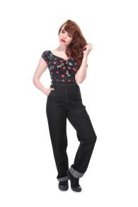 Siobhan Plain Jeans - Siobhan jeans, svart stl L
