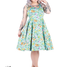 Ella floralsving dress