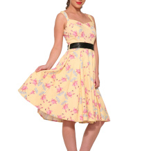 Flamingo Love Svingdress