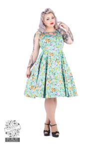 Ella floralsving dress - ella floral dress stl 3XL