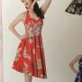 Alika dress flera färger - Alika dress röd stl 4XL