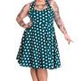 Mariam dress  flera färger - mariam dress grön/vit stl 4XL