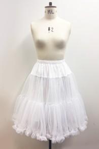 Petticoat Polly 3 färger - underkjol polly vit stl XS/S