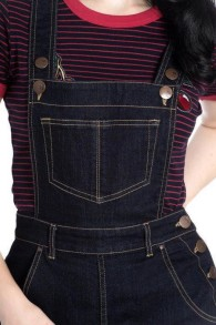 Elly May Dungaree - elly may navy stl XS