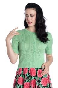 Loretta cardigan 3 färger - loretta grön stl S