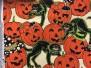 Hallowen tyger - Hallowentyg nr5  1m