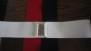 Resår skärp 4 olika färger - svart stl XL