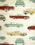 Cadillac, Chrysler tyg - Cadillac,Chrysler, Beige,  1m