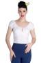 Melissa top,  7 olika färger - Melissa vit, stl XL