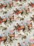 Jultyg  3 st olika tyger - Hästarna 1m