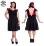 Evie dress - Evie röd  stl 4XL