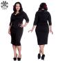 Thelma dress - Thelma  vit  stl 4XL