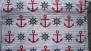 Sailor tyg 3 olika färger - Salior tyg röd, 1m ( tygbiten är 2m)