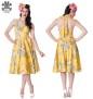 Alika dress flera färger - Alika dress gul stl 4XL