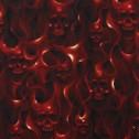 Skulls on fire 2färger