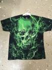 Grön Döskalle t-shirt