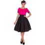 Darlene dress finns i fler färger - darlene rosa/svart stl XL