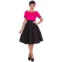 Darlene - darlene rosa/svart stl 5XL