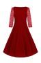 Divine Velvet swing dress