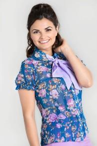 Violetta blus - violetta blus stl XS