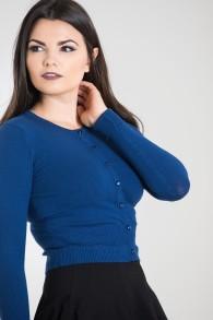 Paloma cardigan - paloma blå stl 2XL