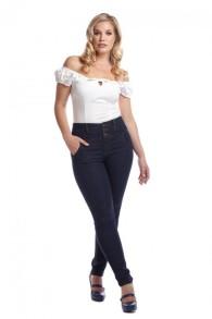 Rebel Kate Stretch denim Jeans - rebel kate stretch stl XL