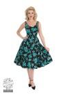 Rosaceae swing dress