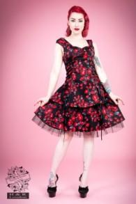 Sorrento red rose dress - sorrento rose dress stl 2XL