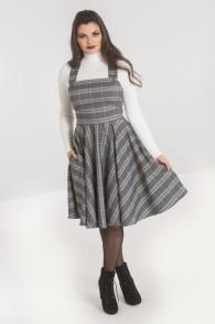 Frostline Pinafore Dress - Frostine Pinafore Grå stl XS